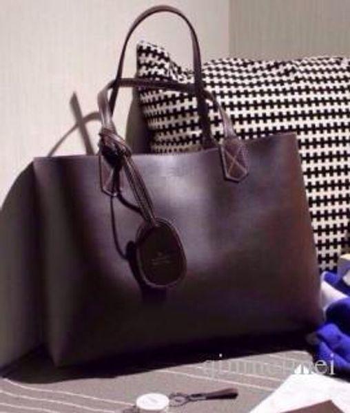 Qualitäts-echtes Leder-Entwerfer-Marken-Frauen Casual Umhängetasche Beidseitige Verwendung Reiseset Handtaschen Damen Handtasche Large Tote