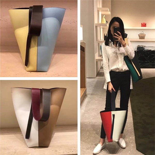 Дизайнер бренд скручен Cabas сумку для женщин Crossbody сумки моды торгового мешка плеча кошелек топа качества натуральной кожи ведро сумки