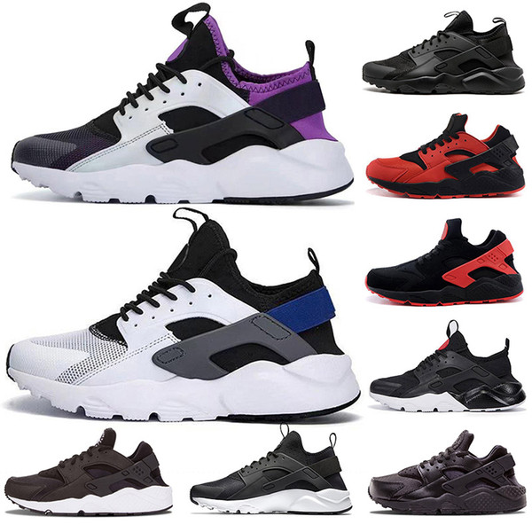 Huarache Ultra 4.0 1.0 Run Schuh für Herren Sole Triple Black Huraches Sport Huaraches Sneakers Harache Mens Designerschuhe 2019