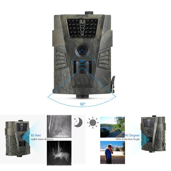 Suntek HT-001 Camera Trap 12MP 940nm Cámara de caza GPRS IP54 Visión nocturna Salvaje para animales Foto Trap Game Trail Cameras