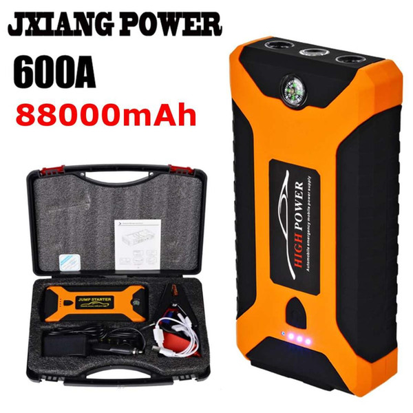 Heavy Duty 88000mAh Car Jump Starter Battery Power Bank Charger Booster Mini UK