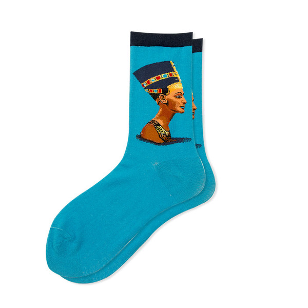 New Arrival Mens Designer Socks with Character Printed Luxury Mens Socks with Many Color Fashion Warm Brand Mid-calf Length Socks Wholesale