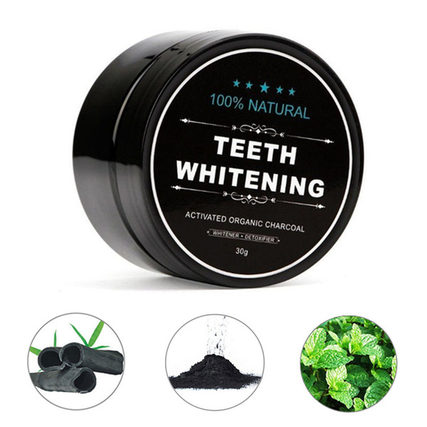 best selling Teeth Whitening Charcoal Powder Bamboo Charcoal Powder Activated Coconut Natural Teeth Whitening Charcoal Powder Tartar Oral Hygiene