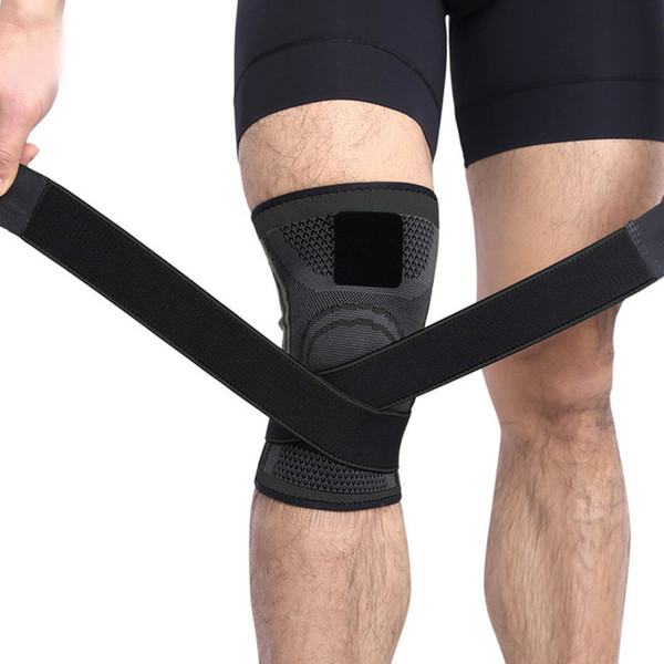 Free DHL Knee Sleeve Braces Compression Kneepads Fit Support for Joint Pain and Arthritis Relief Improved Circulation Compression Wear M421F
