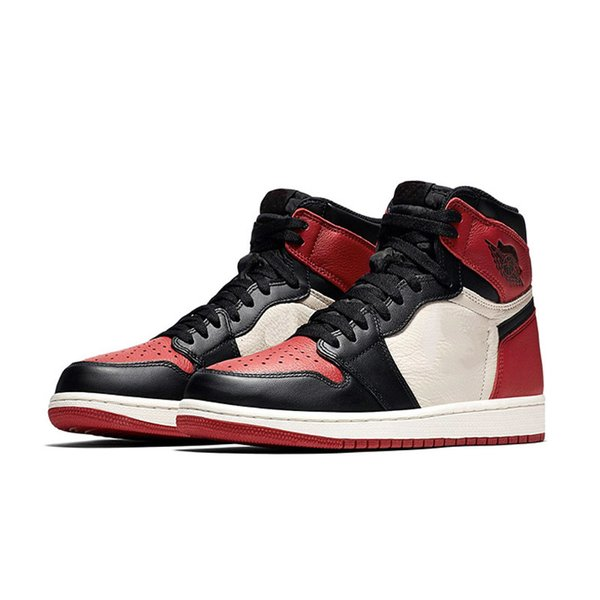 Bred Toe with black mark