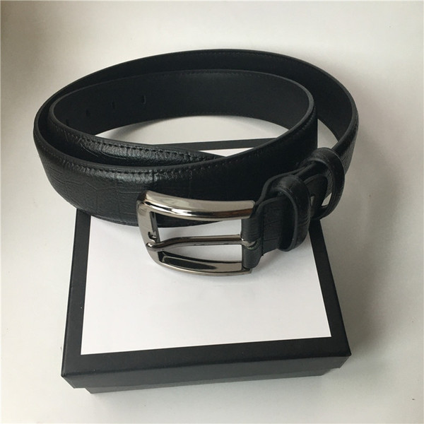 best selling 3.8cm Width Mens Belt Big Buckle Women Fashion Belts High Quality Genuine Leather Waist Belts