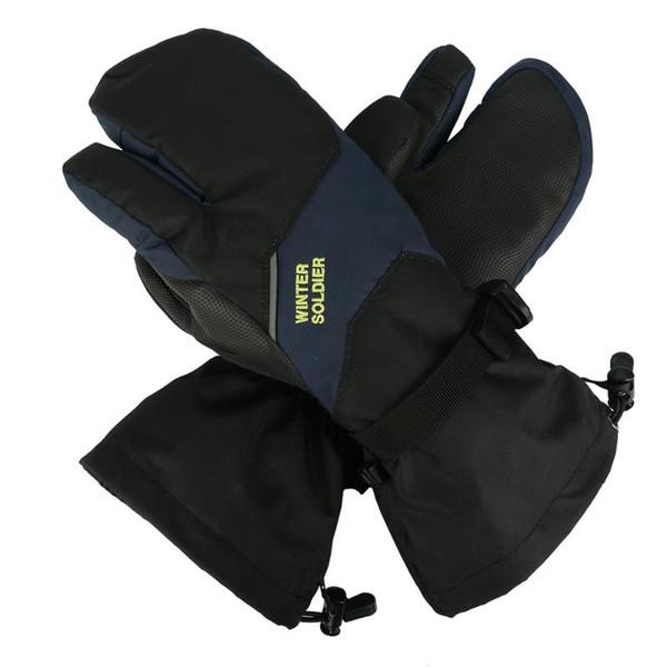 Winter Warm Windproof Ski Gloves Men Women Snowboard Skiing Gloves