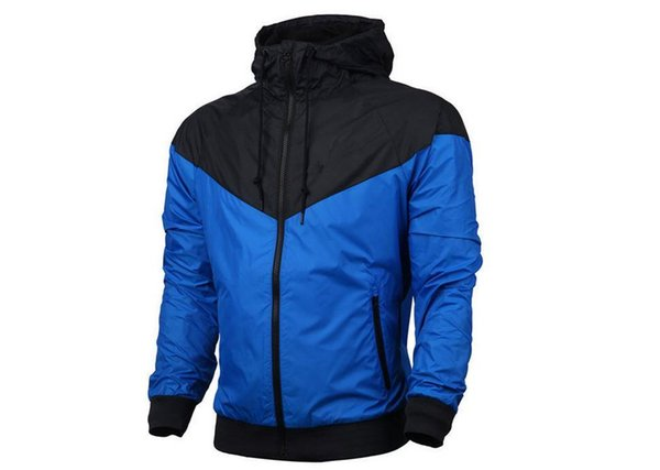 Homens Mulheres Windrunner Casacos Primavera Outono Sports Windbreaker Coats Jacket executando roupa