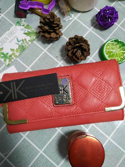 KK Kim Kardashian Kollection Girls with zipper card holders cell phone bag ladies Pocket women wallets purse 2019