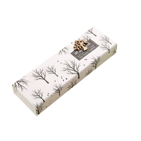 Art Style Pencil Case Of Forest Pattern School Pencil Case Stationery Pen Beautiful Box Of Paper 20*6.2*2.8cm