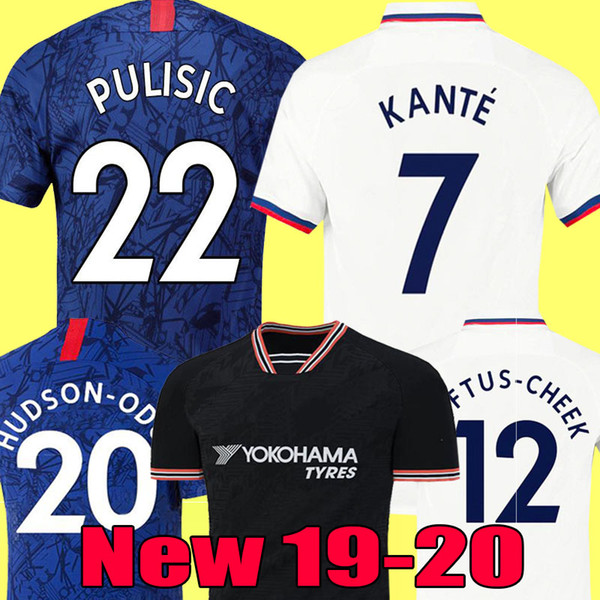top popular Thailand PULISIC KANTE ABRAHAM LAMPARD ODOI WILLAN soccer jersey 2019 2020 MOUNT Camiseta de football kits shirt 19 20 MEN WOMEN KIDS SETS 2019