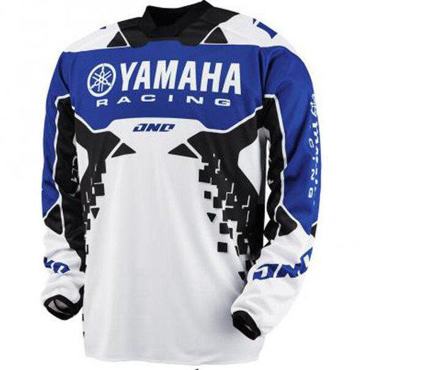 Polyester Material Motorcycle T-shirt Jerseys for yamaha racing Team T shirt Summer wear jerseys Moto Player ice cold feel