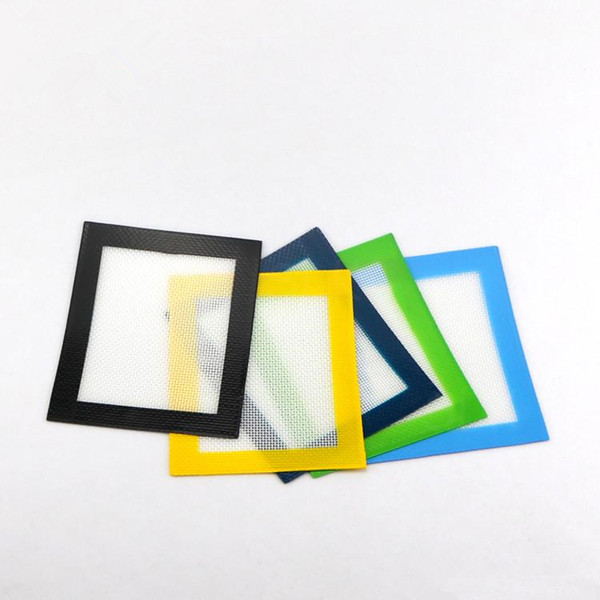 Silikon Pişirme Mat kare küçük şekil silikon paspaslar mum yapışmaz yastıkları Delikli Silikon Pişirme Mat Yapışmaz Fırın Levha Liner Aracı YD046