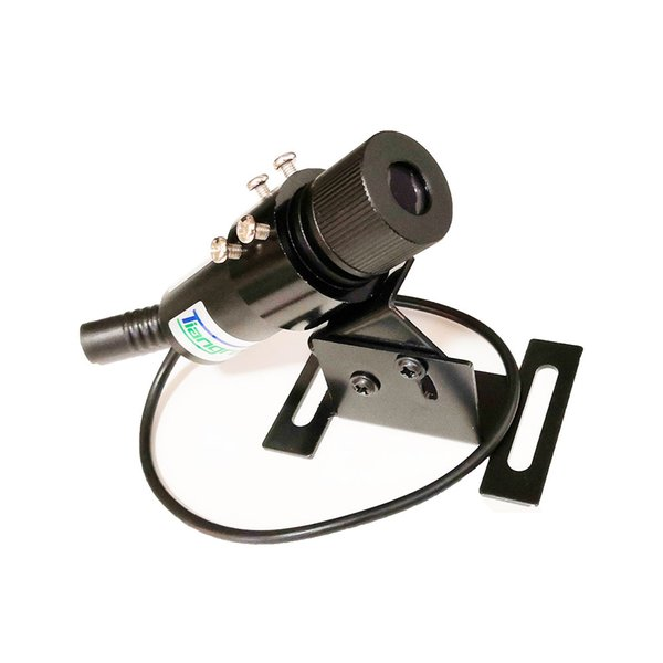 Tiangreen Laser Line 650nm 200mW Laser Module Red Line Industrial Positioning with holder and US EU Plug power supply