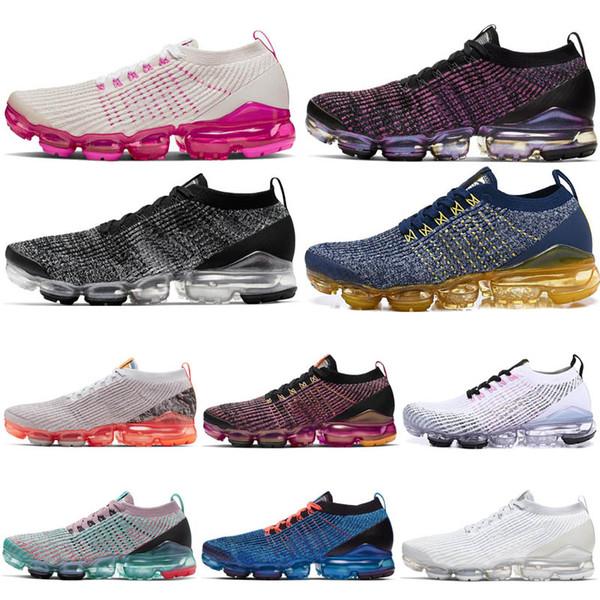 2019 Chaussures de course pour hommes Femmes Baskets Blue Fury Olympic Pure Platinum Randonnée Jogging Marche Confort extérieur Sport Entraîneurs
