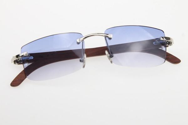 Silver Blue Lens
