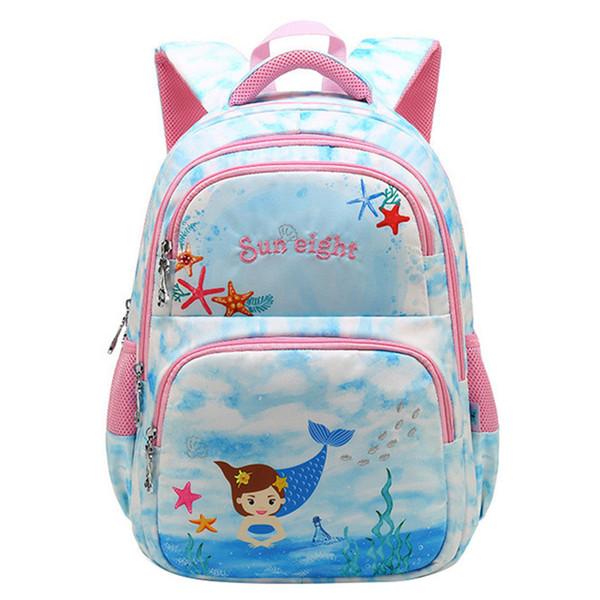 Sweet Printing Girl's School Bags Cartoon Pattern Kids Orthopedic Backpack Children School Backpack Girl Book Bag Rucksack