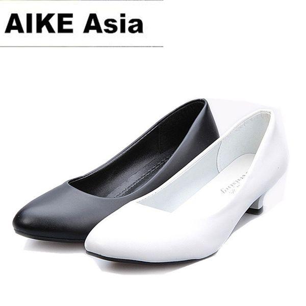 2019 Dress 2018 Women Shoes Pointed Toe Pumps Suede Leisure Dress Shoes High Heels Boat Wedding tenis feminino Matt 5cm/4cm