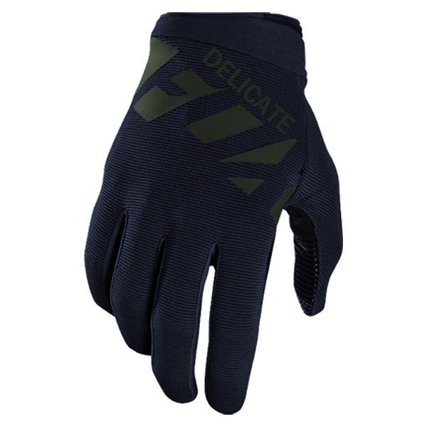 Delicate Fox Motorsports Travelling Motorcycle Men's Blue Gloves