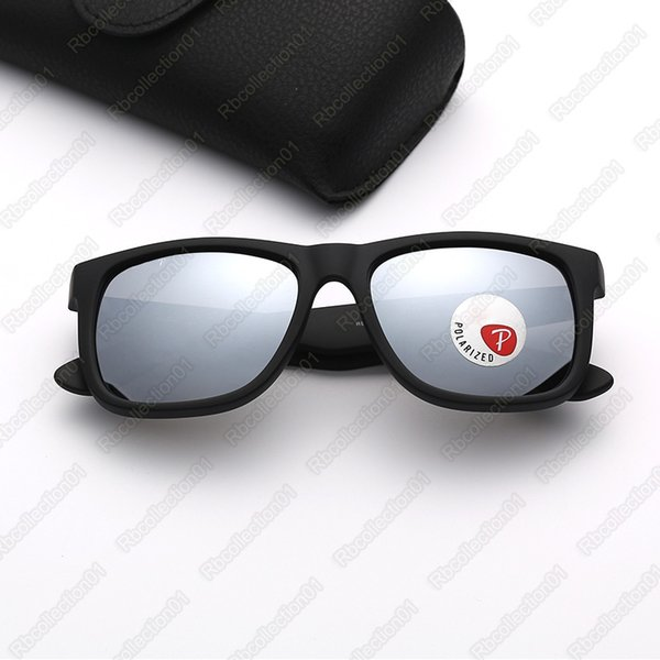 matte black-silver mirror polarized