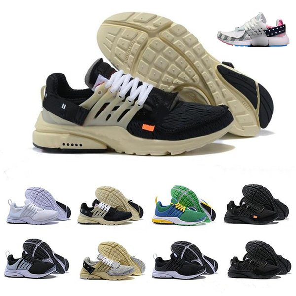 2019 New Presto V2 designer off Ultra BR TP QS Black White running Shoes Cheap Air Cushion Prestos Women Men athletic shoes trekking