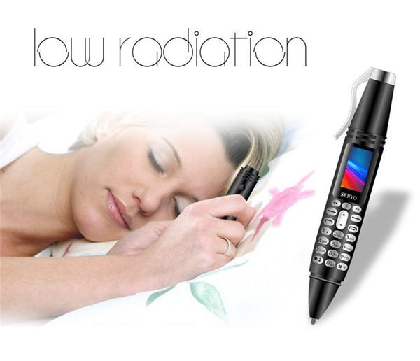 2019 Nuevo K07 Celular Mini 0.96 pulgadas Tiny Screen GSM Dual SIM Cámara Linterna Bluetooth Dialer Teléfonos móviles pluma de grabación