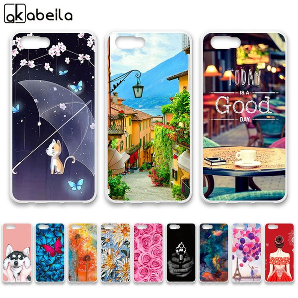 Mobile Phone Accessories Mobile Phone Cases Covers AKABEILA Silicone M2 Case For ZTE Nubia M2 Cases Silicone Bumper For ZTE Nubia