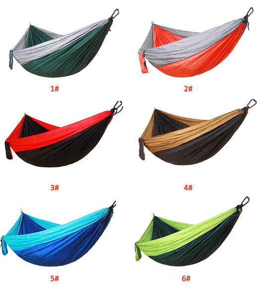 Awe Inspiring Adult Outdoor 260 140Cm Hammock Nylon Parachute Cloth Hanging Sheet People Double Camping Riding Indoor Leisure Swing Chair Kids Camping Sleeping Bags Theyellowbook Wood Chair Design Ideas Theyellowbookinfo