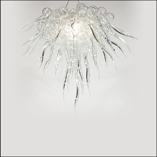 lustre modern art deco murano glass chandeliers customized colored handmade blown glass pendant lights for foyer decor