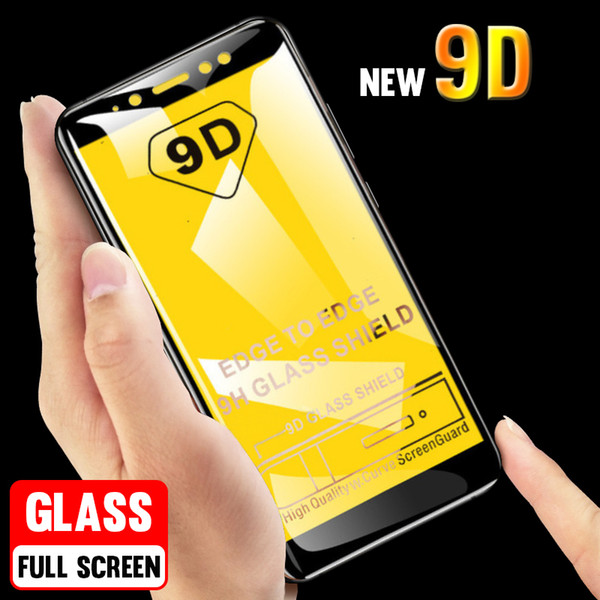 9D Protective Tempered Glass For Huawei P20 Lite Glass P10 P smart Plus Screen Protector For Mate 20 Pro 10 Lite Film 5D