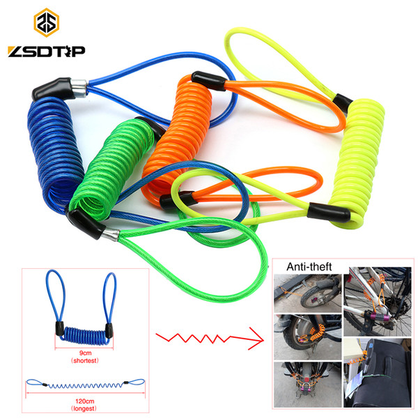 Accessories Alarm Disc lock Spring Cable locks Anti-theft rope Disc Brake Bag