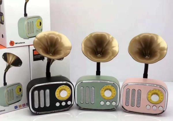 A67 Mini-Lautsprecher Kreative Trompete Drahtloser Bluetooth-Lautsprecher Tragbarer Radio Retro Subwoofer
