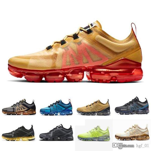 Новый с коробкой nike air vapormax 2019 мужские повседневные пластиковые падение ВАП или TN обувь плюс Максов шок повседневная обувь утилита мужские женские Модные спортивные