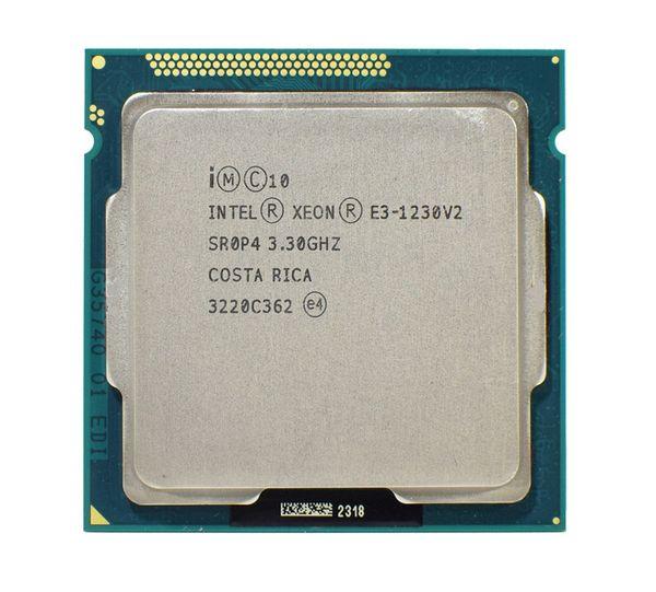 Intel Xeon E3 1230 V2 3.3GHz SR0P4 8M Quad Core LGA 1155 CPU E3-1230 V2 Processor