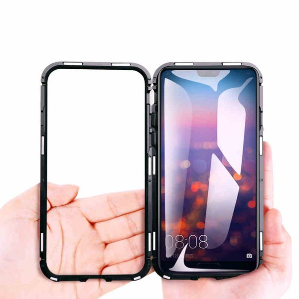 clearance prices shoes for cheap temperament shoes Magnetic Absorption Case For Huawei P20 Lite Tempered Case For Huawei P20  Pro Honor 10 Flip Metal Ultra Protective Phone Case Make Your Own Phone  Case ...