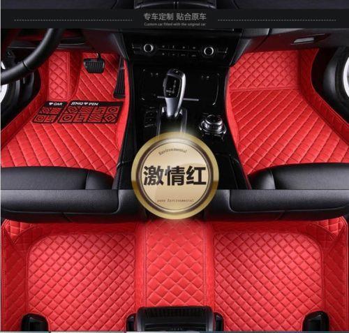 top popular Custom car floor mats fit for Mercedes benz W204 W205 C180 C200 C300 C350 5SEATS 2019