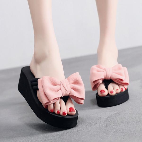 SAGACE Yeni Yaz kadın Kız Kama Slaytlar Terlik Sandalet Yeni Moda Kapalı Açık Keten Flip-Flop Plaj Kadın Ayakkabı J11