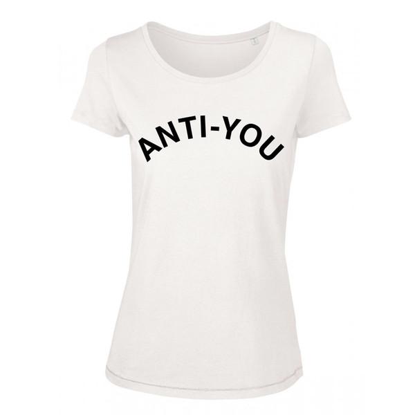 T-Shirt Femme Anti-toi - Anti toi - phrase amusante amour - mode france