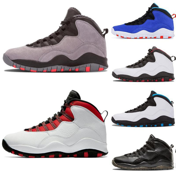 2019 HOT Men basketball shoes 10 Desert Cat Tinker Cement 10s mens shoes back fashion designer trainers zapatos sneaker