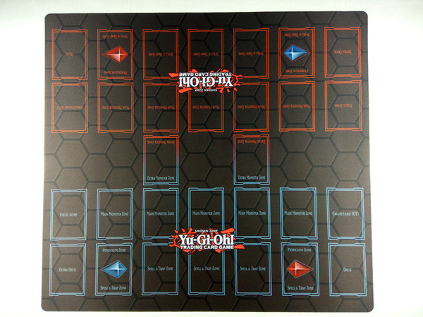 best selling Yu-Gi-Oh! 2-Player Master Rule 4 Card Link Zones Custom Playmat TCG CCG Duel Mat