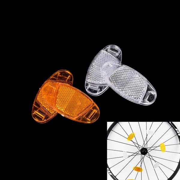 Light Wheel Rim Reflective Bicycle Reflect Accessories Bike Spoke Reflector