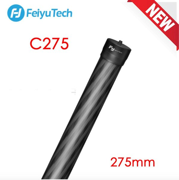 Barra de extensión de mano FeiyuTech Carbono Poste C275 para Feiyu AK2000 sPG2 a1000 a2000 G6 Plus Gimbal Stabilizer 275mm