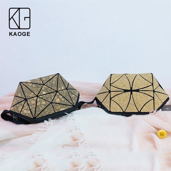 kaoge natural cork cosmetic bag women vegan healthy makeup bag waterproof handbag organizer make up bao
