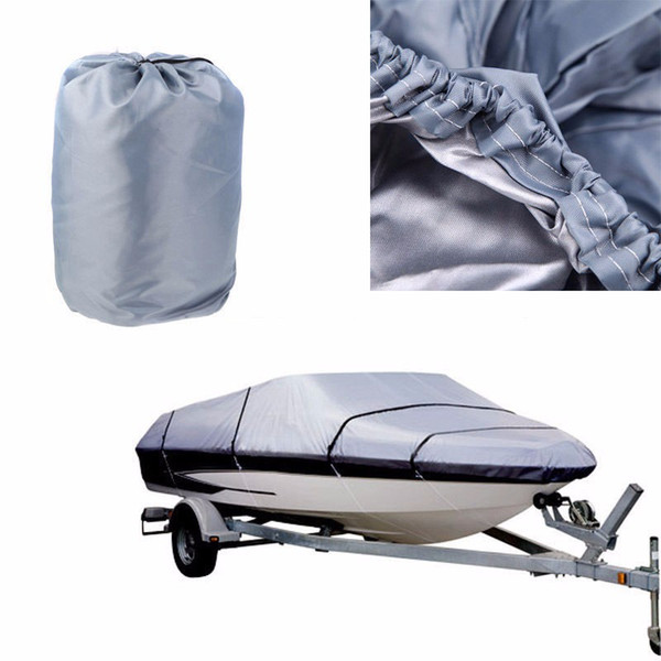 top popular LOONFUNG LF233 Boat Cover Waterproof Fish-Ski V-Hull Sunproof UV Protector 210D 2020