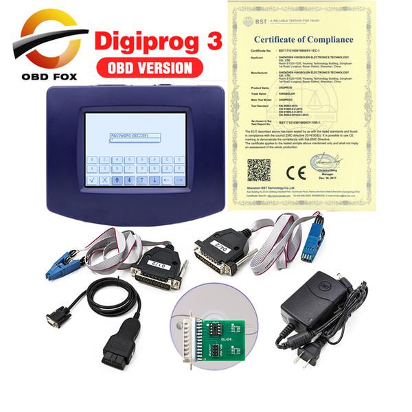 Main Unit of Digiprog 3 odometer programmer V4.94 Digiprog iii with OBD2 ST01 ST04 Digiprog3 digiprog-3 Odometer correction tool