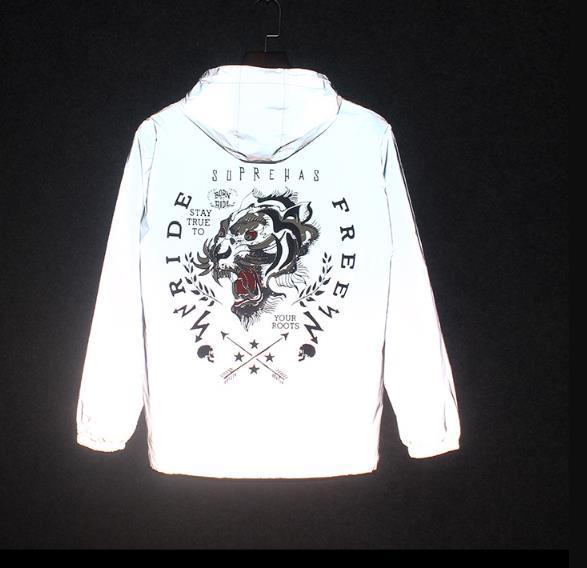 último descuento más de moda estética de lujo Compre Nueva Chaqueta Reflexiva De 3M De La Moda, Chaqueta Fluorescente Al  Aire Libre De Las Mujeres De Los Clothingmen A $16.25 Del Fogbank | ...