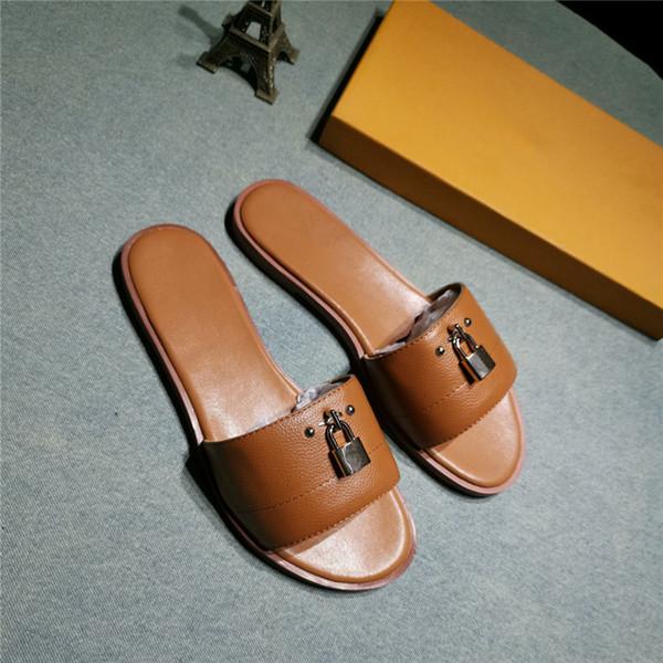 Femmes luxe designer pantoufles trois couleurs célèbre designer femmes éraflures haute qualité dame designer sandales taille 35-40 B100510W
