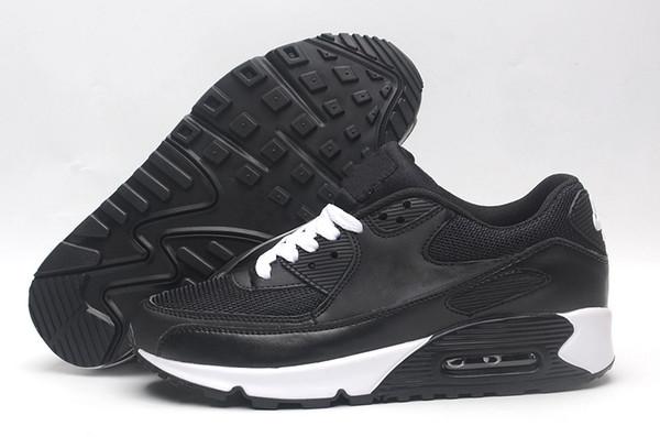Acheter Nike Air Max 90 90 95 97 98 270 En Gros Des Hommes Et Des Femmes De Qualité Supérieure 90 Ultra Essentiel Coussin Sneaker Original Chaussures