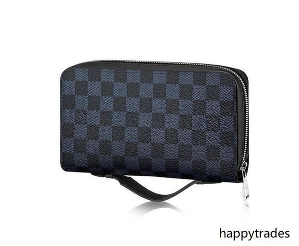 2019 Zippy Xl Wallet N41590 Men Belt Bags Exotic Leather Bags Iconic Bags Clutches Portfolio Wallets Purse