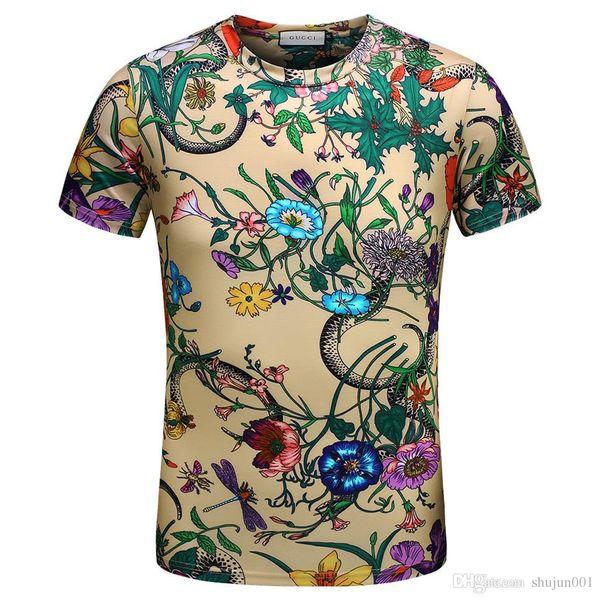 Meilleur Mix 22 modèles T-shirt Hommes D'été Hommes Chemise Marque De Luxe Marque À Manches Courtes Haute Qualité Coton Tees Et Tops Garçons Vêtements 4XL
